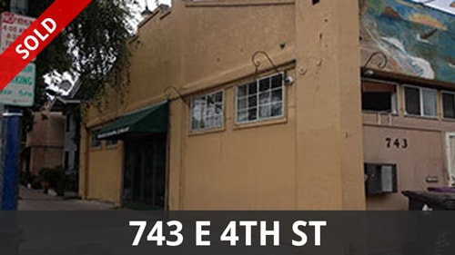 Commercial Listing | 743 E 4th St