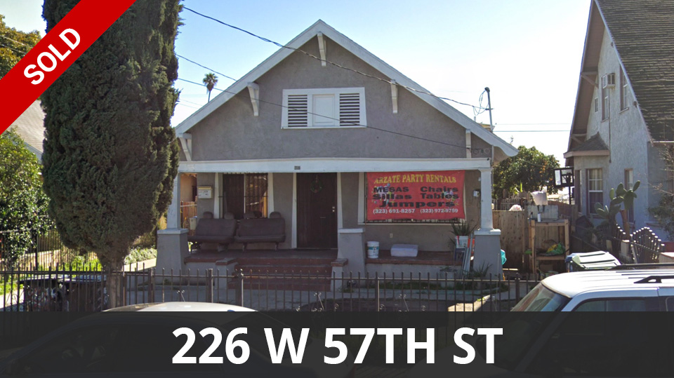 226 W 57th St Los Angeles, CA
